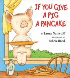 If You Give a Pig a Pancake Hardcover Book