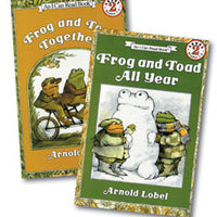 Frog & Toad All Year Paperback Book I Can Read Level