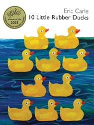 10 Little Rubber Ducks Hardcover Book