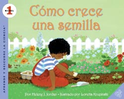 How a Seed Grows / Cómo crece una semilla Spanish Paperback Book