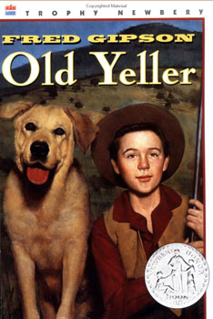 Old Yeller Paperback Book