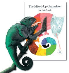 Mixed-Up Chameleon Paperback Book