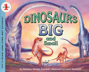 Dinosaurs Big and Small Stage 1 Paperback Book