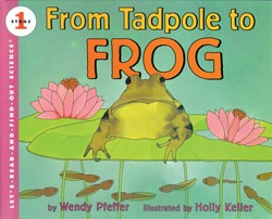 From Tadpole to Frog Level 1 Book & Cassette
