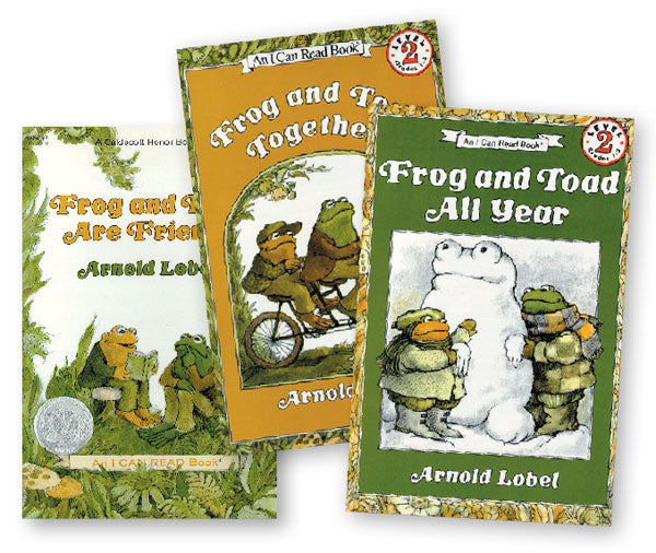 Frog & Toad Read-Along Set of 3
