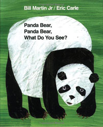 Panda Bear, Panda Bear, What Do You See? Hardcover Book