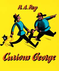 Curious George English Paperback Book