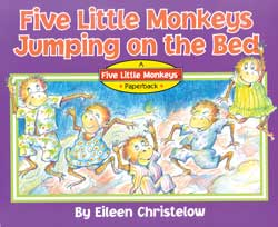 Five Little Monkeys Jumping on the Bed English Paperback