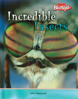 Incredible Insects English Library Bound Book