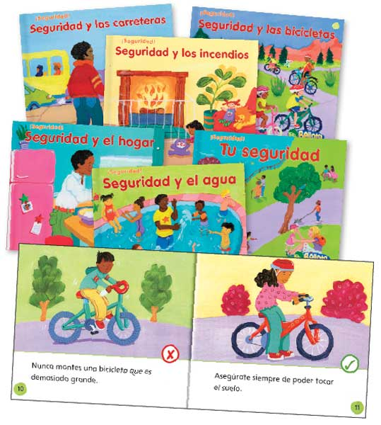 Stay Safe Spanish Library Book Set