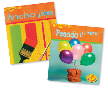 Sizes Spanish Paperback Book Set