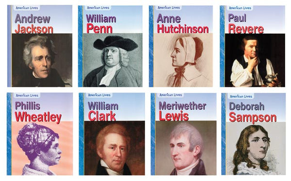 American Lives English Paperback Book Set
