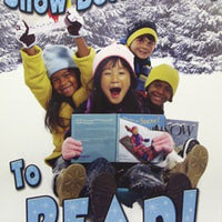 Snow Better Time to Read Poster