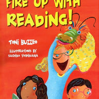 Fire Up with Reading Hardcover Book