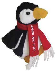 Penguin Plush - I'm a Cool Reader