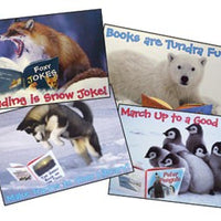 Winter Baby Animals Poster