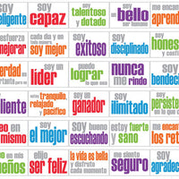 AFFIRMATION POSTERS SPANISH-CLASSROOM-SET