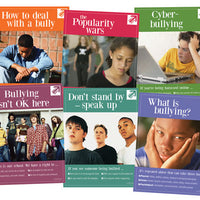 Bullying: Take a Stand English Poster Set