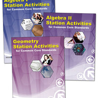 Math Station Activities for Common Core High School Set/3