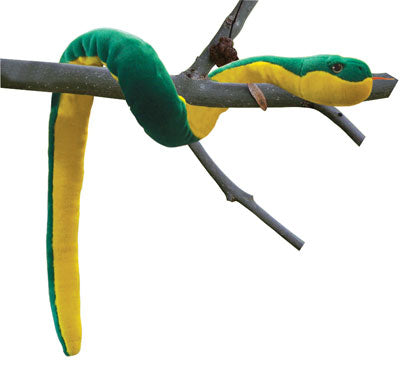 Snake Plush Yellow-Bellied 44 in.