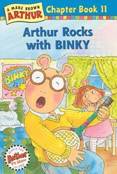 Arthur Rocks With Binky Paperback Book