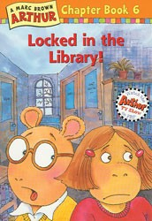Arthur Locked in the Library Paperback Book
