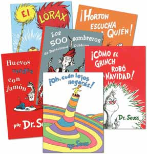 Dr. Seuss Spanish Classroom Library 1
