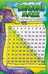 Dragon's Maze Multiplication Game