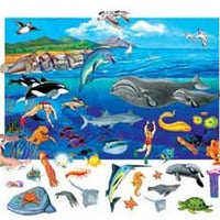 Underwater Sky with Sea Life Manipulative Kit