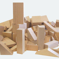 Classroom Wooden Geoblocks Set