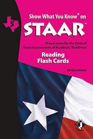 STAAR Reading Grade 5 English Flash Cards