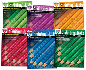 Common Core Writing to Texts Grades 1-6 Complete Set