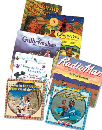 Exploring the Natural World Bilingual Book Set