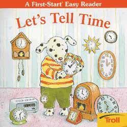 Let's Tell Time Paperback Book First-Start