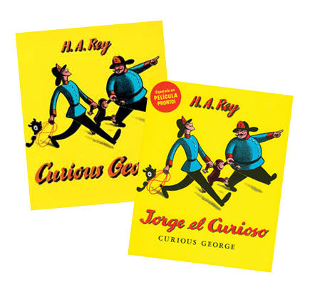 Curious George Bilingual Book Set
