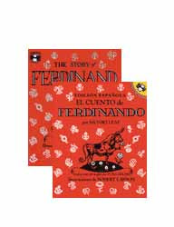 Story of Ferdinand Bilingual Paperback