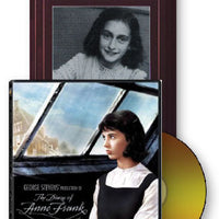 Anne Frank: Diary of a Young Girl Book and DVD Set