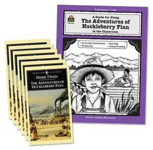 Adventures of Huck Finn 6 Books & TCM Guide