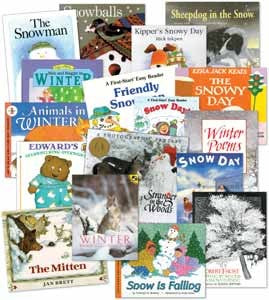 Winter Literature Library Set of 17