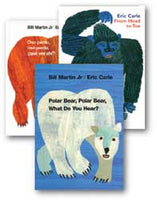 Eric Carle Spanish Library 2 (3) Set of