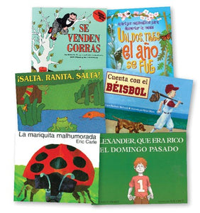 Math Literature Book Set in Spanish