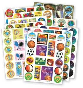 Theme Sticker Assortment