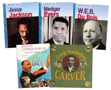 African American Biographies Book Set