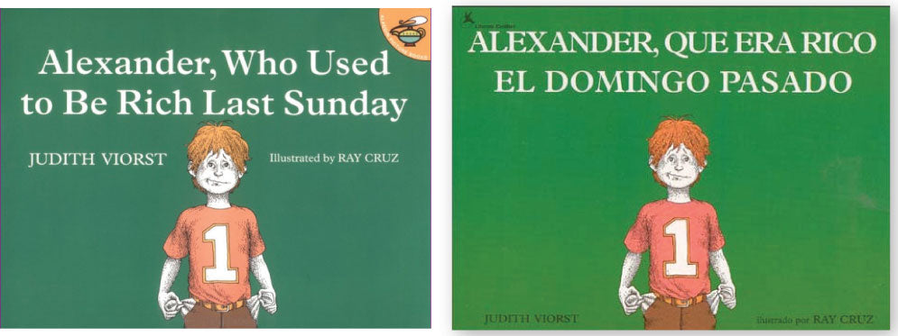 Alexander Who Used to be Rich Eng/Span 2 book set