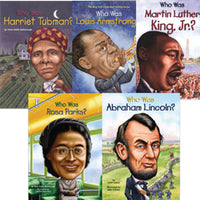 African American Who Was....? English Paperback Set of 5