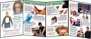 Project Drug Free Folding Display