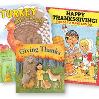 Thanksgiving Book Collection Set of 3
