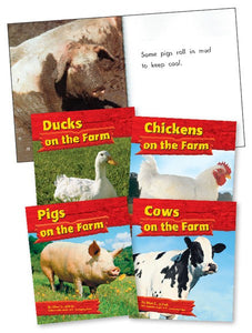 On the Farm Library Bound Book