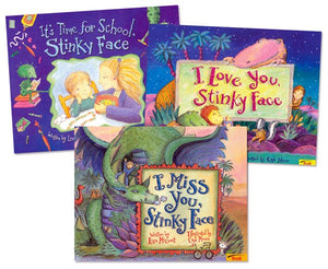 Stinky Face Pack 3 Paperback Books