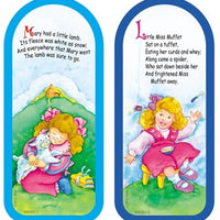 Mary Had a Little Lamb / Little Miss Muffet Bookmarks